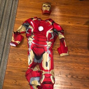 Other - Adult Halloween Costume. Iron Man Body with Helmet